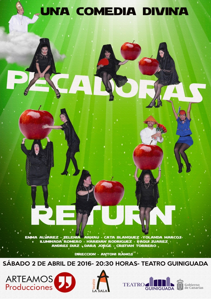 PECADORAS RETURN A4